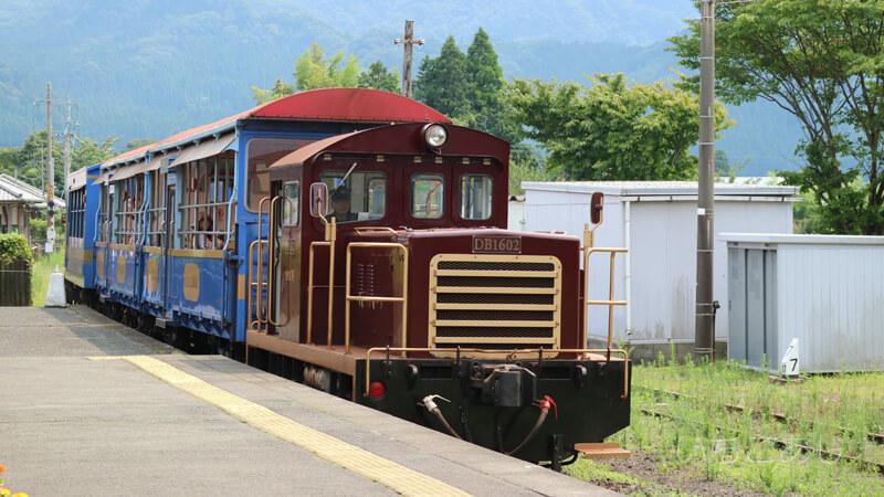 高森のトロッコ列車