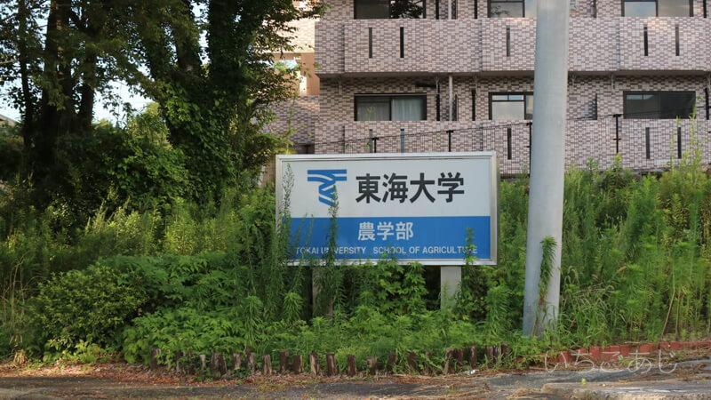 東海大学阿蘇校舎正門